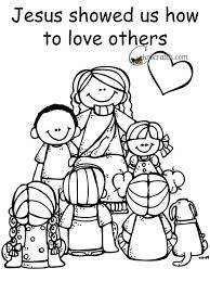 Image result for Jesus wants us to love everyone coloring