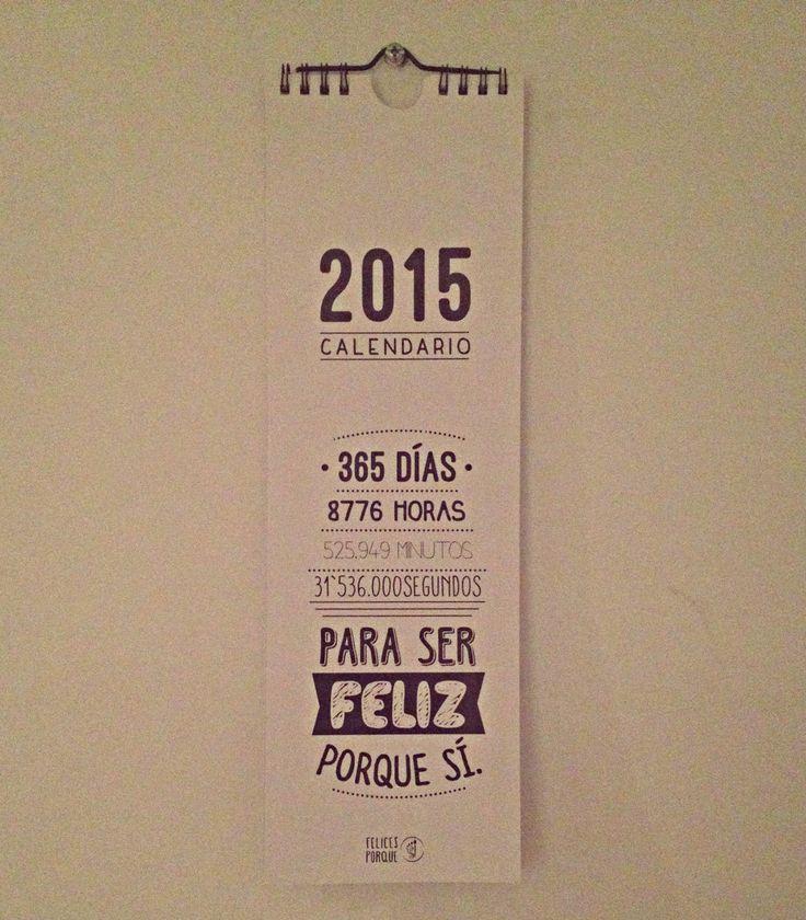 CALENDARIO 2015 y 365 DÍAS PARA SONREIR
