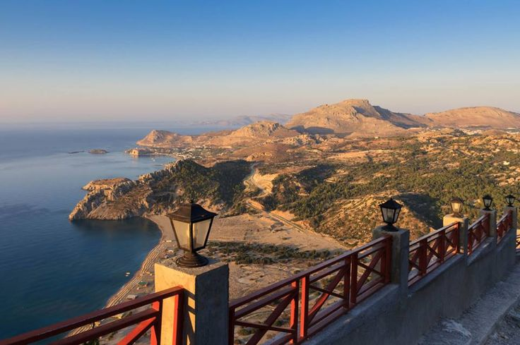 Good Morning from #panagia #tsampika!   #Rhodes #Rodos #Greece