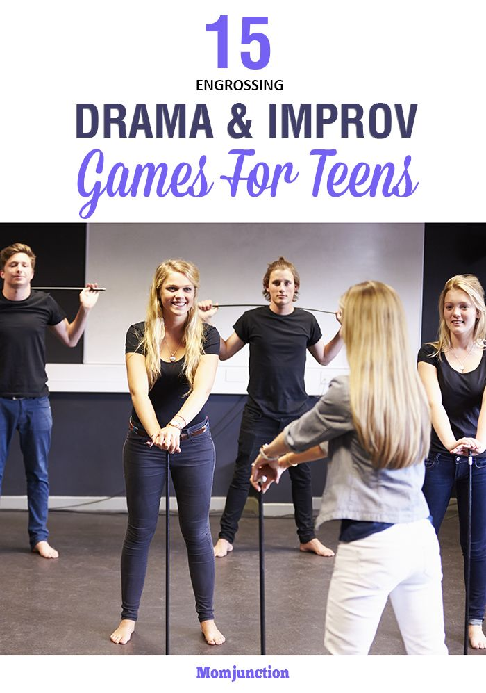 Here is an exhaustive list of improv and drama games for teens that will help to improve concentration, facial expression and modulation of voice. Read on!