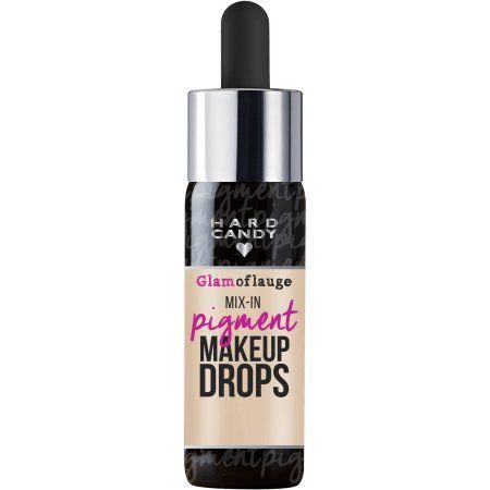 Hard Candy Glamoflauge Mix-in Pigment Makeup Drops, 0.5 fl oz - Walmart.com