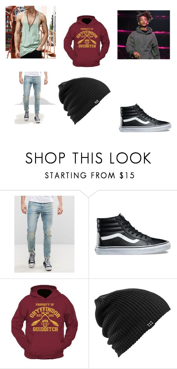 """""""Bryan Shacklebolt - Pillow fort"""" by pepper2good4u on Polyvore featuring ASOS, Vans and Burton"""