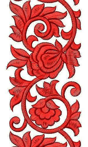 2014 Bridal Dress Embroidery Design