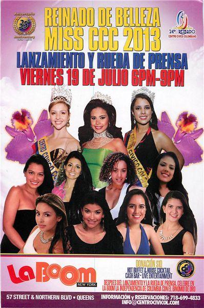 24 Reinado de Belleza en el Centro Civico Colombiano de Queens, NY Fuente: Consulado de Colombia en Nueva York
