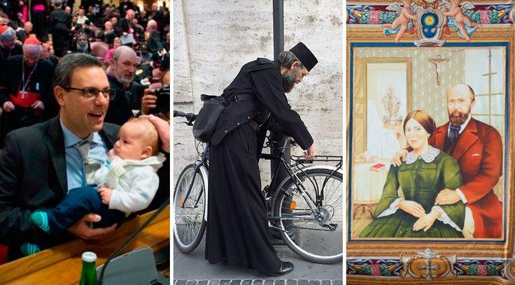 ROMA, 23 Oct. 15 / 06:36 pm (ACI).-   El Sínodo de la Familia está a punto de concluir, pero ha dejado sorprendentes noticias en sus tres semanas de duración. Desde conmovedores testimonios de familias que luchan cada día por ser fieles al plan de Dios hasta la canonización de los padres de Santa Teresa de Lisieux, pasando por una carta remitida por varios cardenales al Papa Francisco.