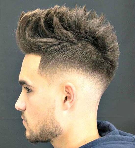 The razor fade haircut, also known as a straight razor fade