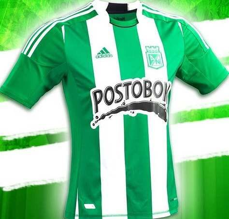 Camiseta Atlético Nacional 2012 Local