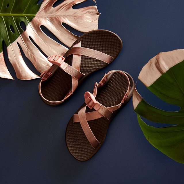bfd7b901845 Get your shimmer on with the new rose gold metallic Chacos!