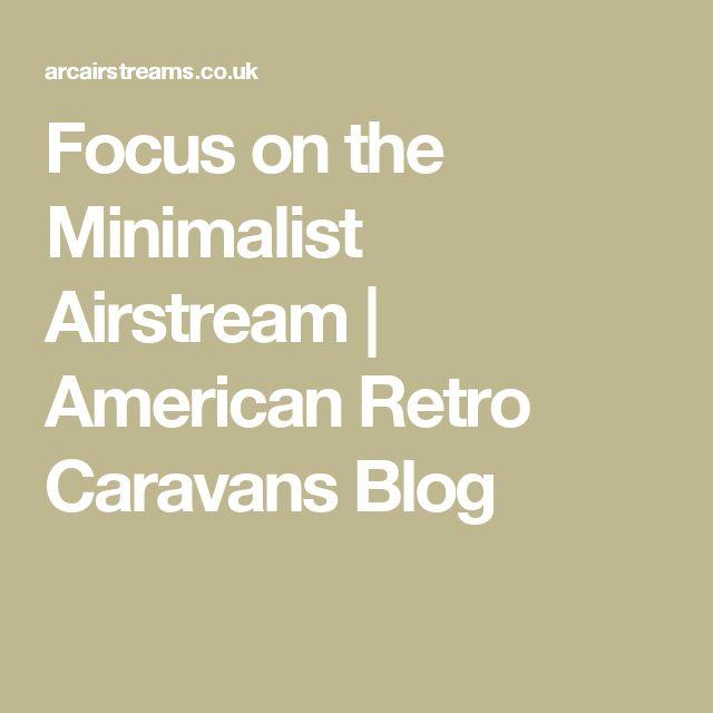 Best 25 retro caravan ideas on pinterest vintage campers retro trailers and retro campers - The minimalist caravan ...