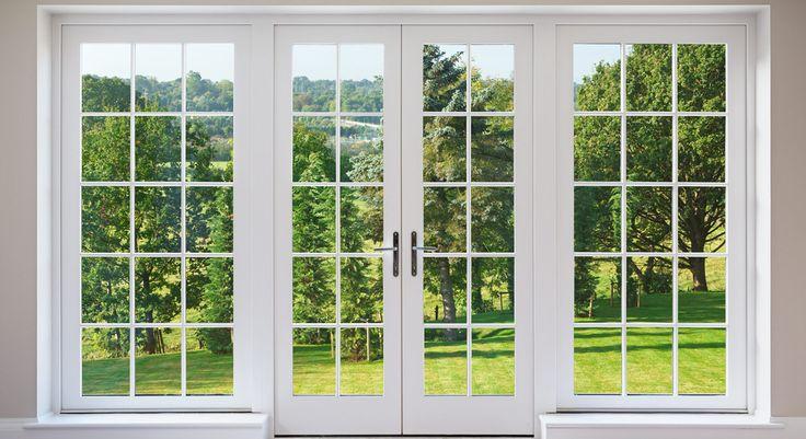 Image result for picture windows door Glass garage door
