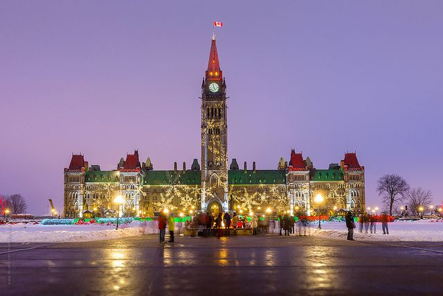 winter celebration at Parliament of Canada | Flickr - Photo Sharing!  Parliament of Canada/Parlement du Canada, Ottawa, Ontario, Canada