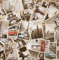 32 шт./лот Классическая Известный Европа Здание Винтажный стиль памяти открытку комплект/Поздравительные Открытки/подарочные карты/Рождественские открытки