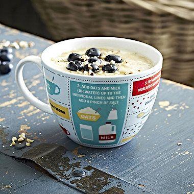Perfect Porridge In A Mug - Gift Mug With Recipe