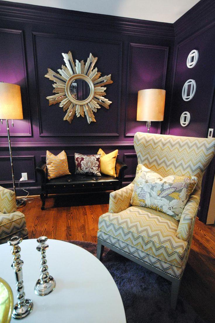 best 25+ dark purple walls ideas on pinterest   purple bedroom