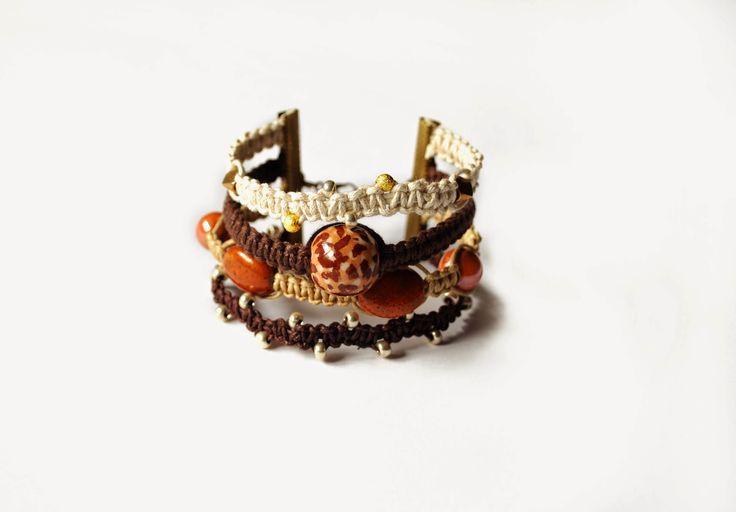 Amarylis HandCraft - bracelet/ cheetah