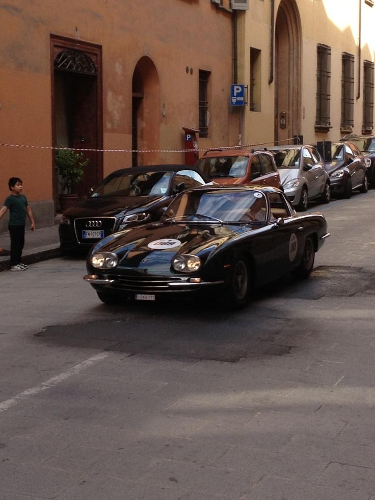 Old glory #Lamborghini #Lambo50 Gran Giro 2013 @ Bologna
