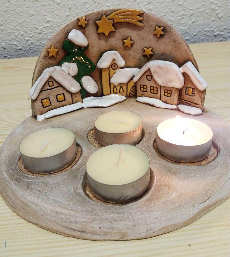 "17 To se mi líbí, 2 komentářů – Marta Vítková (@vitkmarta) na Instagramu: ""#keramika #ceramics #ceramica #vanoce #advent #christmasdecoration"""