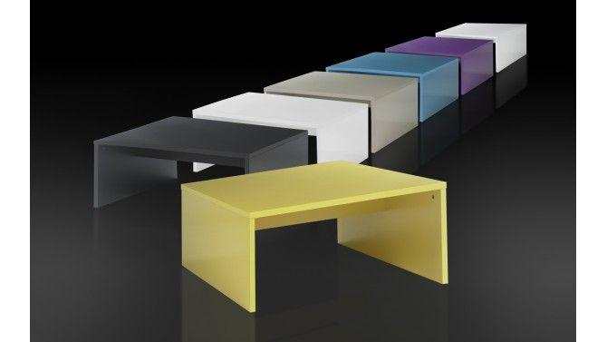 Table basse design de couleur - Mirko