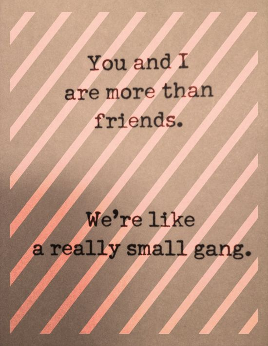 we're like a really small gang :: cocokelley