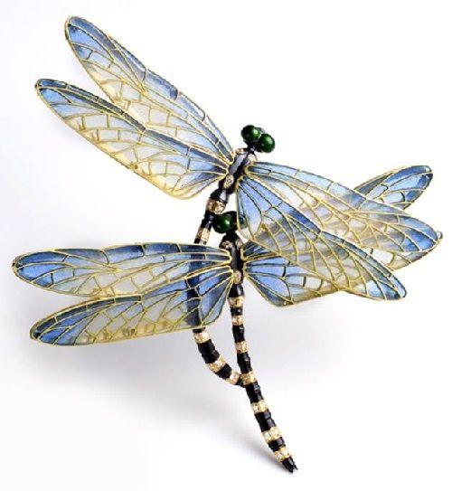 Dragonflies. Kunio Nakajima Jewellery Garden