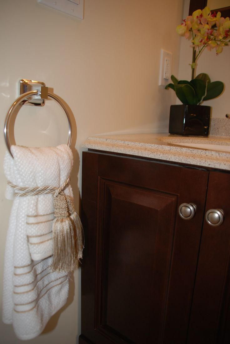 Bathroom Towel Decor 1000 Images About Bathroom Decor Ideas On Pinterest Staging