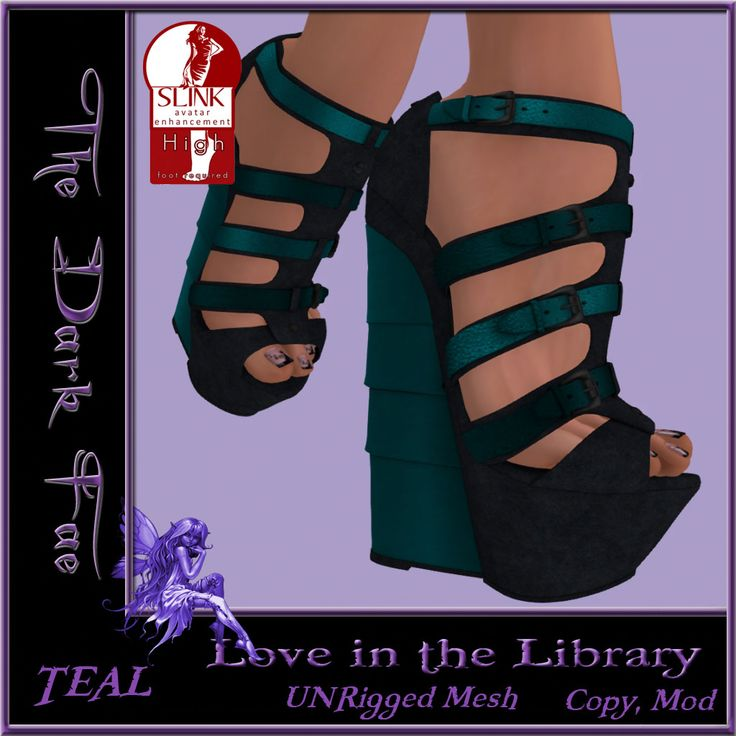 Webcuffs And The Little Teal Wedge
