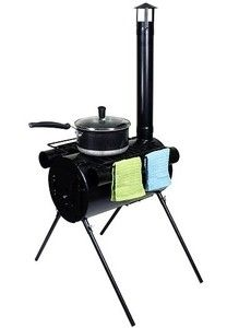Portable Military Camping Wood Stove Tent Heater Cot Camp Ice Fishing Cooking RV | eBay