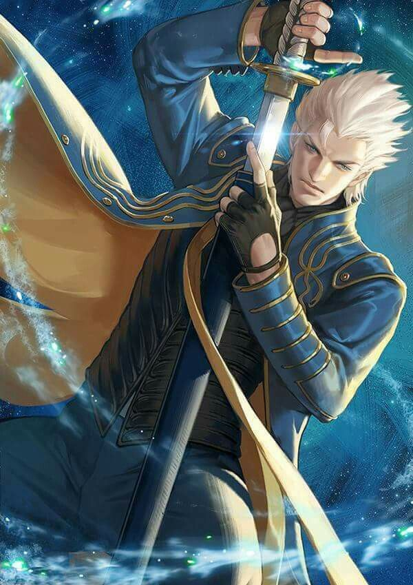 Devil may cry 3 Vergil art fron Kinetiquettes