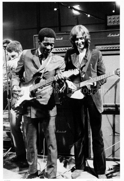 Buddy Guy and Eric Clapton, London 1969