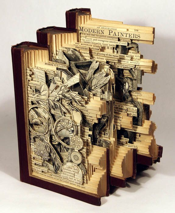 Book Art That Will Melt Your Brain