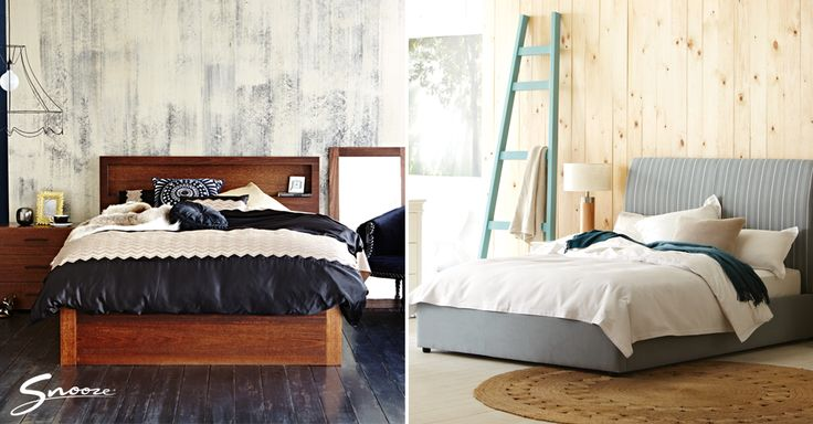 Examples of customised Venus and My Design #bed ranges. Build your own with the Snooze bedBUILDER™ online here: www.snooze.com.au/bedBUILDER