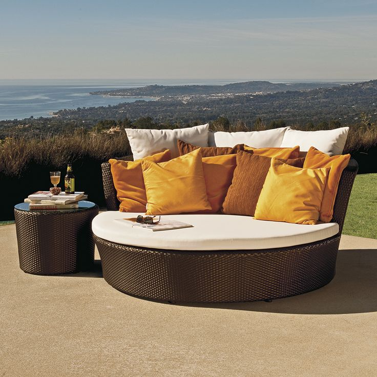 option for outside by hot tub | renovation | pinterest | janus ... - Modulares Outdoor Sofa Island