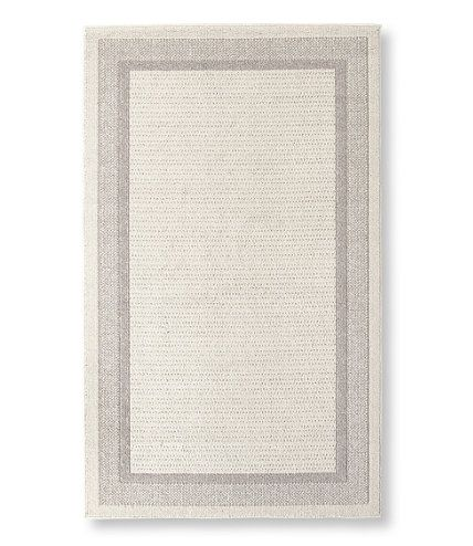 Easy Care Border Rug Indoor Rugs At L L Bean Made In