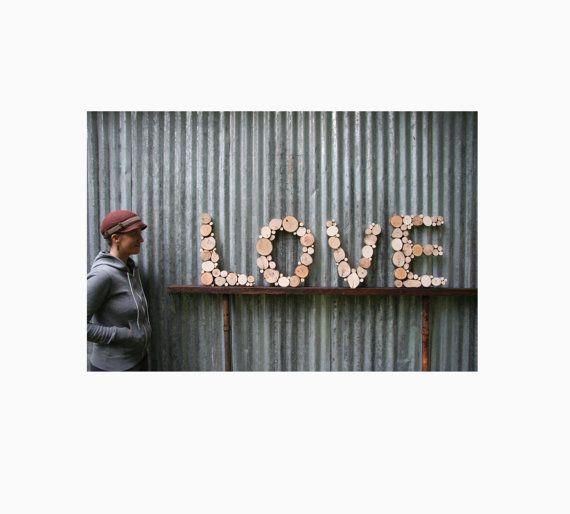 Wall Letters regenereret træ rustik træ skiver genbrugstræ kunst træ skive kunst træ bogstaver træ skulptur moderne
