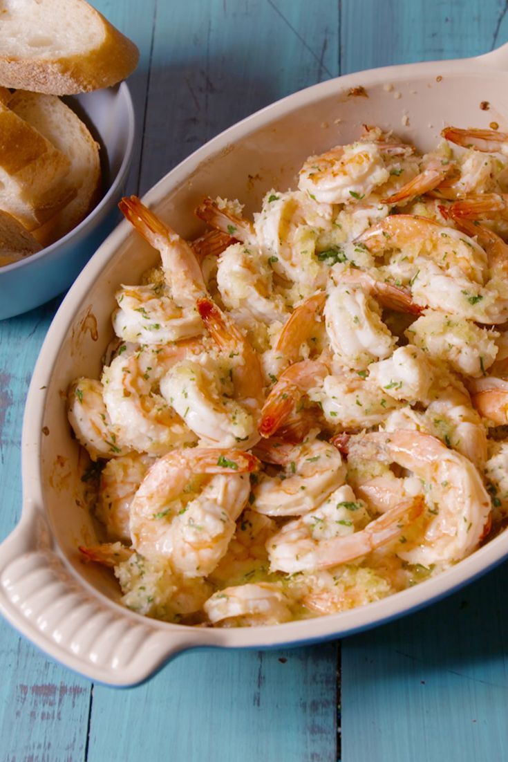 Best Baked Shrimp Scampi Recipe - How To Make Baked Shrimp Scampi - Delish.com