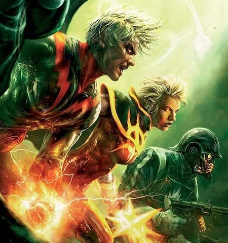 Adam Warlock, Quasar, and Star-Lord