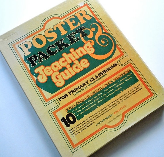 Back to School  1978 Poster Packet & Teaching by MoreLooseEnds, $12.00: Picture-Black Posters, Schools Posters, School Posters, Posters Packets, Back To School, 1978 Posters