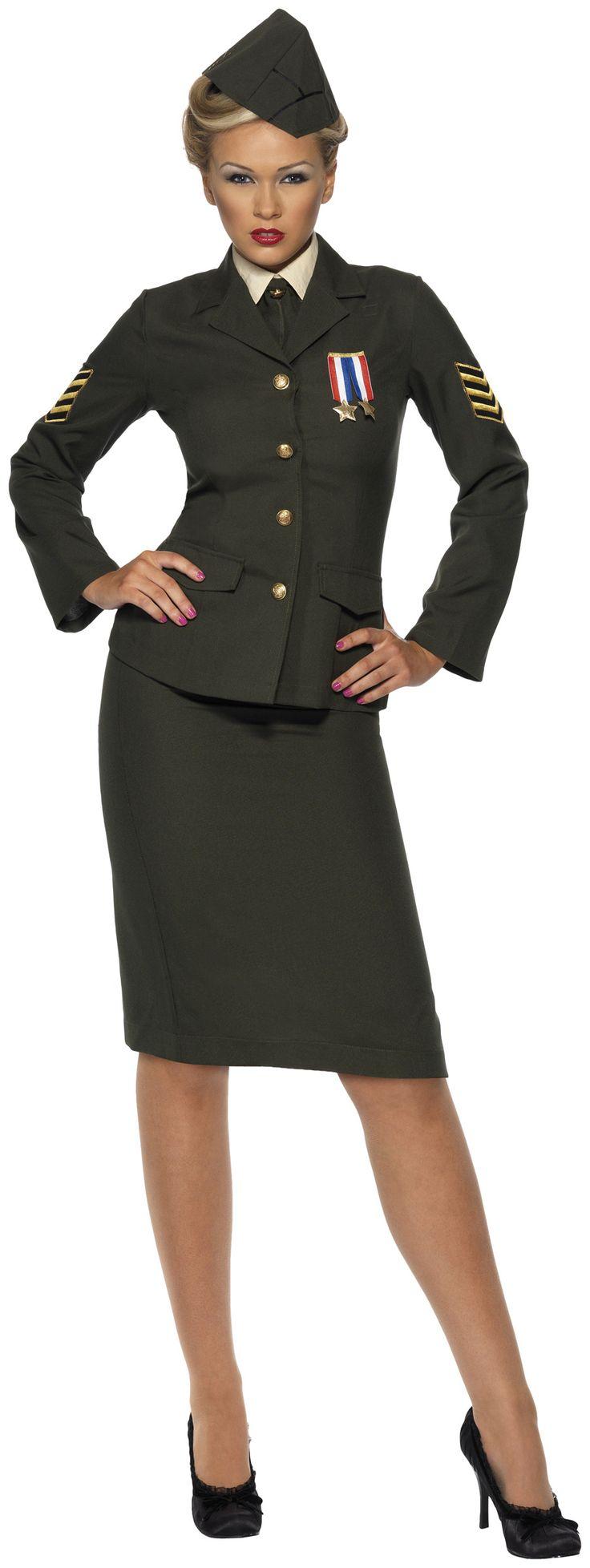 Déguisement officier militaire femme : Deguise-toi, achat de Déguisements adultes