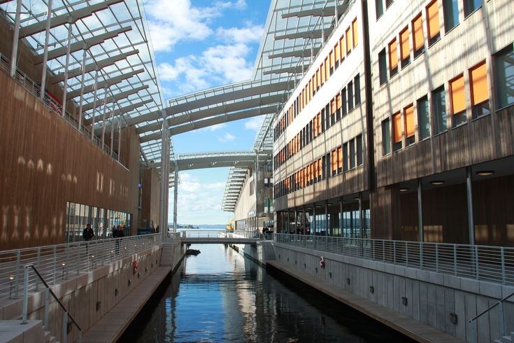 Astrup Fearnley Museet, Canal