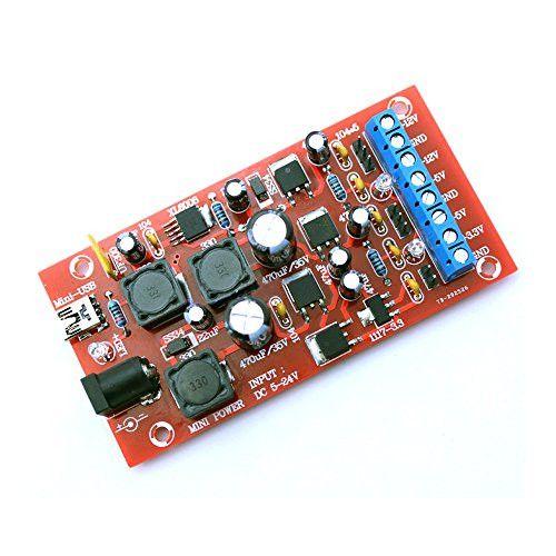 Qianson USB Boost Single To Dual Power Module Linear Regulator ±12V ±5V +3.3V Multiple Output DIY Kits