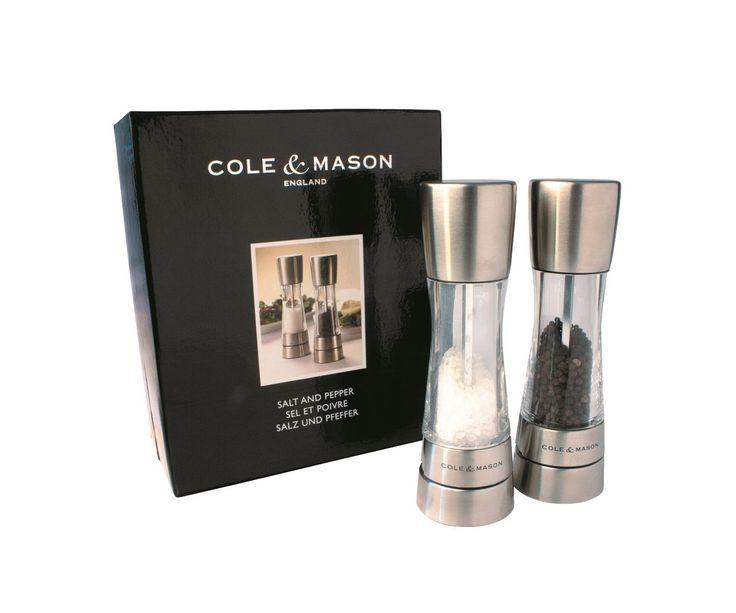 Buy COLE AND MASON SALT AND PEPPER GRINDERS Online - PurpleSpoilz Australia