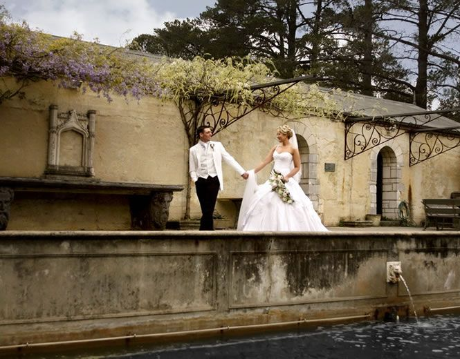 Weddings At The Great Hall Of Montsalvat Australias Oldest Artists Colony In The Melbourne