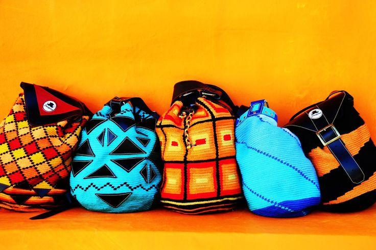Cinco mochilas Trespies