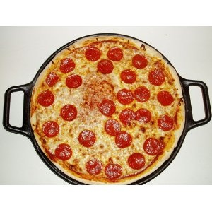 lodge cast iron pizza pan makes the BEST pizza ever!