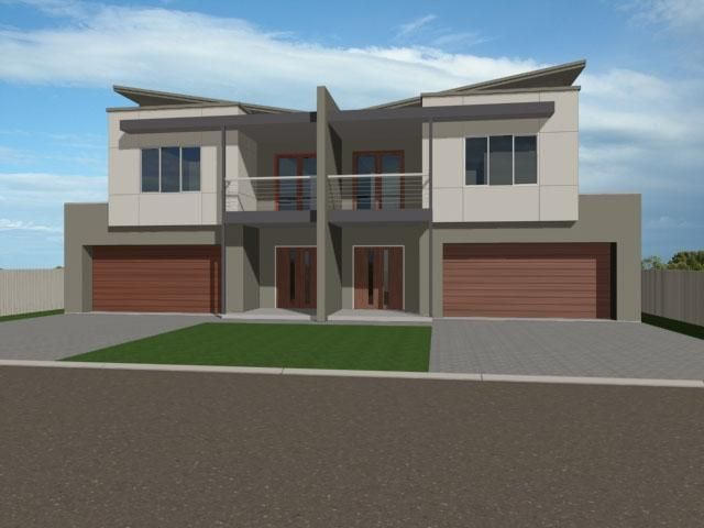 Australia duplex design and google on pinterest for Contemporary duplex plans