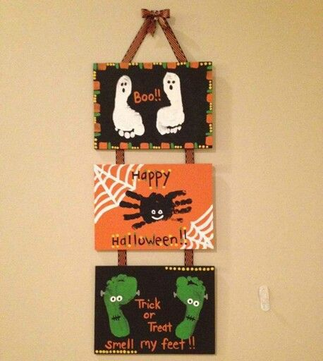 Cute Halloween sign