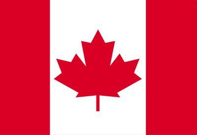La bandera de Canada