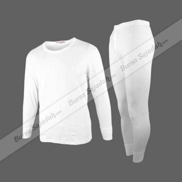 Stelan pakaian dalam pria dengan long sleeves dan long legs ini dibuat dengan model body fit yang berfungsi menghangatkan Anda seperti saat berada di tanah suci pada musim dingin. Pakaian dalam yang biasa disebut Long John ini  dibuat dari bahan cotton lycra yang berkualitas juga lembut & nyaman.