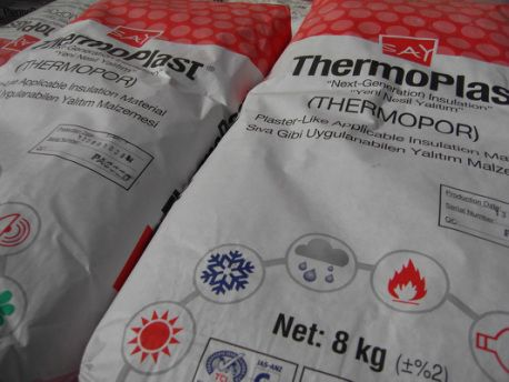 ThermoPor Insulated Render and Plaster
