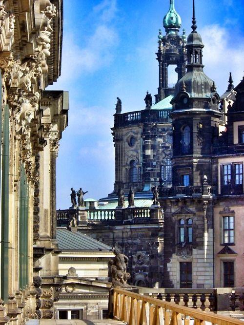 Baroque city of Dresden, Germany
